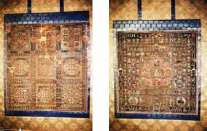 絹本著色両界曼荼羅図