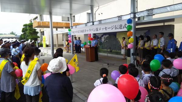 『『町長フォト 交通安全キャラバン隊来庁』の画像』の画像