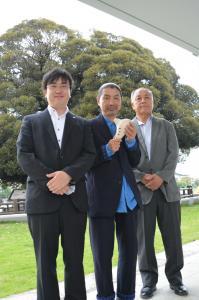『『『町長フォト オカリナ奏者 宗次郎さんが来庁』の画像』の画像』の画像