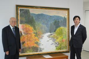『『『荒木久夫さん絵画寄贈』の画像』の画像』の画像