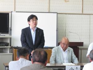 『町長フォトニュース 農業委員会委員等選任に関する地区説明会』の画像