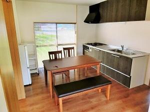 『お試し住宅 キッチン(全体)』の画像