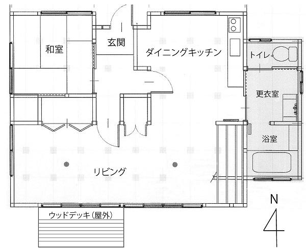 『『城里町お試し居住体験住宅間取り』の画像』の画像