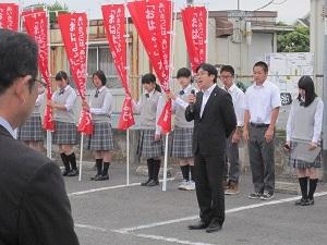 『町長フォトニュース さわやかマナーアップキャンペーン』の画像