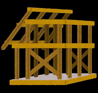 『『建設中の家』の画像』の画像