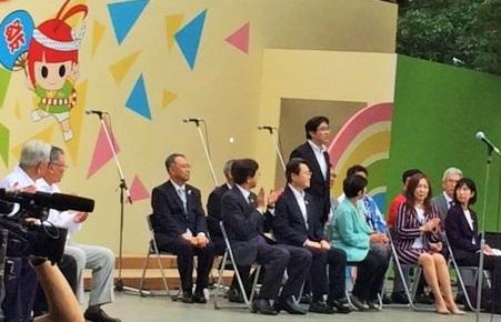 『『町長フォトニュース 10月8日 「江戸川区民まつり」に参加』の画像』の画像