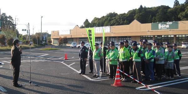 『『町長フォトニュース 10月17日 地域安全防犯運動キャンペーンに参加』の画像』の画像
