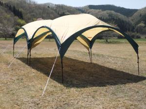 『シェードテント』の画像