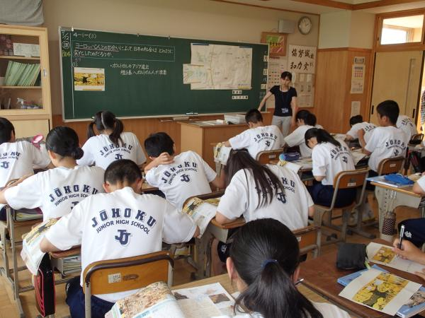 『『常北中学校 授業画像』の画像』の画像