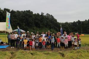 『2019稲刈り磯野(4)』の画像