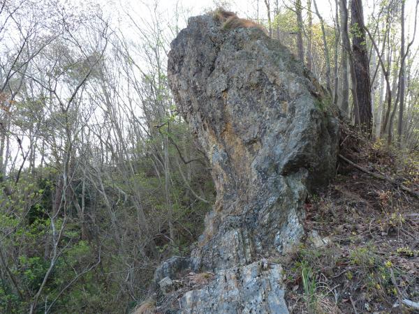 『鶏石(雄)』の画像