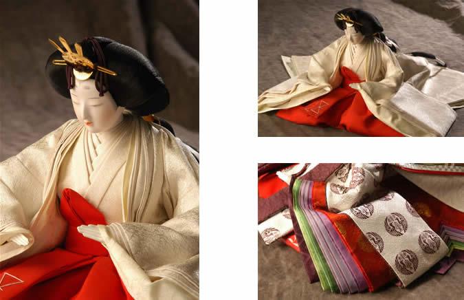 『桂の雛人形(県郷土工芸品指定)の画像』の画像