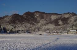 冬景色 鶏足山