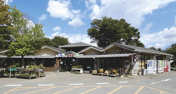 特産品直売センターかつら(道の駅)