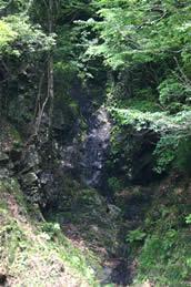 荒沢不動の滝